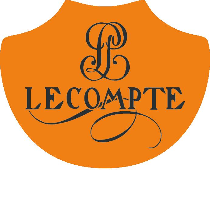 Logo Lecompte Texte Blanc