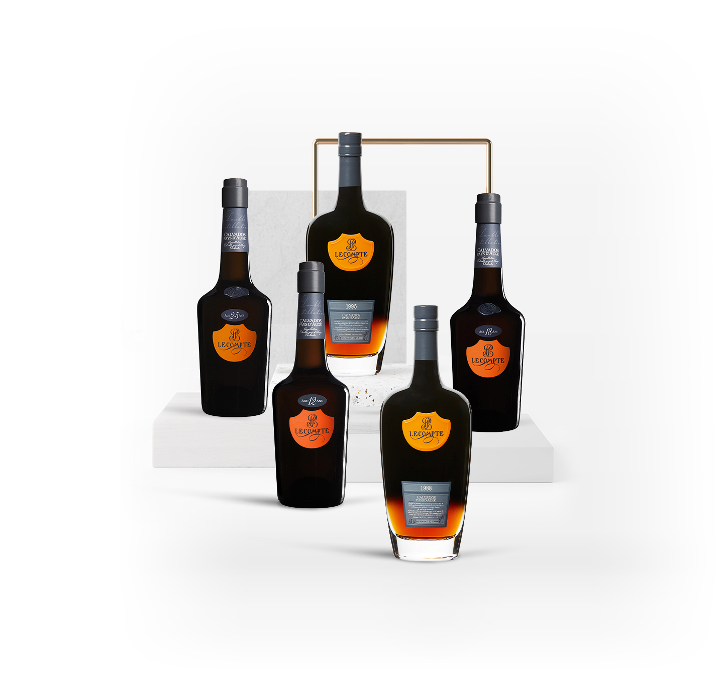 Collection Lecompte Calvados Pays Auge Rare